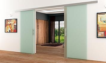 Dorma puertas correderas-Planta con 2 alas | 2 x 1025 x 2050 mm 8 mm