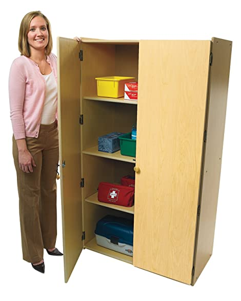 Amazon.com: 2-Door Teachers Cabinet: Kitchen & Dining