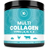 Keppi Multi Collagen Protein Powder - 5 Types of Pure Food Sourced Collagen Peptides - Marine, Free Range Chicken and…