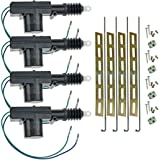 com high power door lock actuator wire automotive installgear universal car power door lock actuator 12 volt motor 4 pack