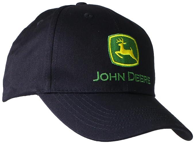 John Deere Gorra de béisbol con logotipo de marca registrada para hombre 20b6331b114