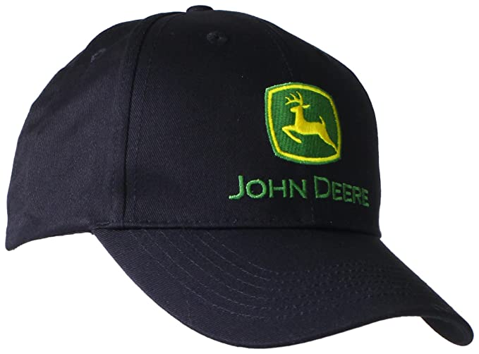 John Deere Embroidered Logo Baseball Hat - One-Size - Men s - Black ... dc73b1a2f01