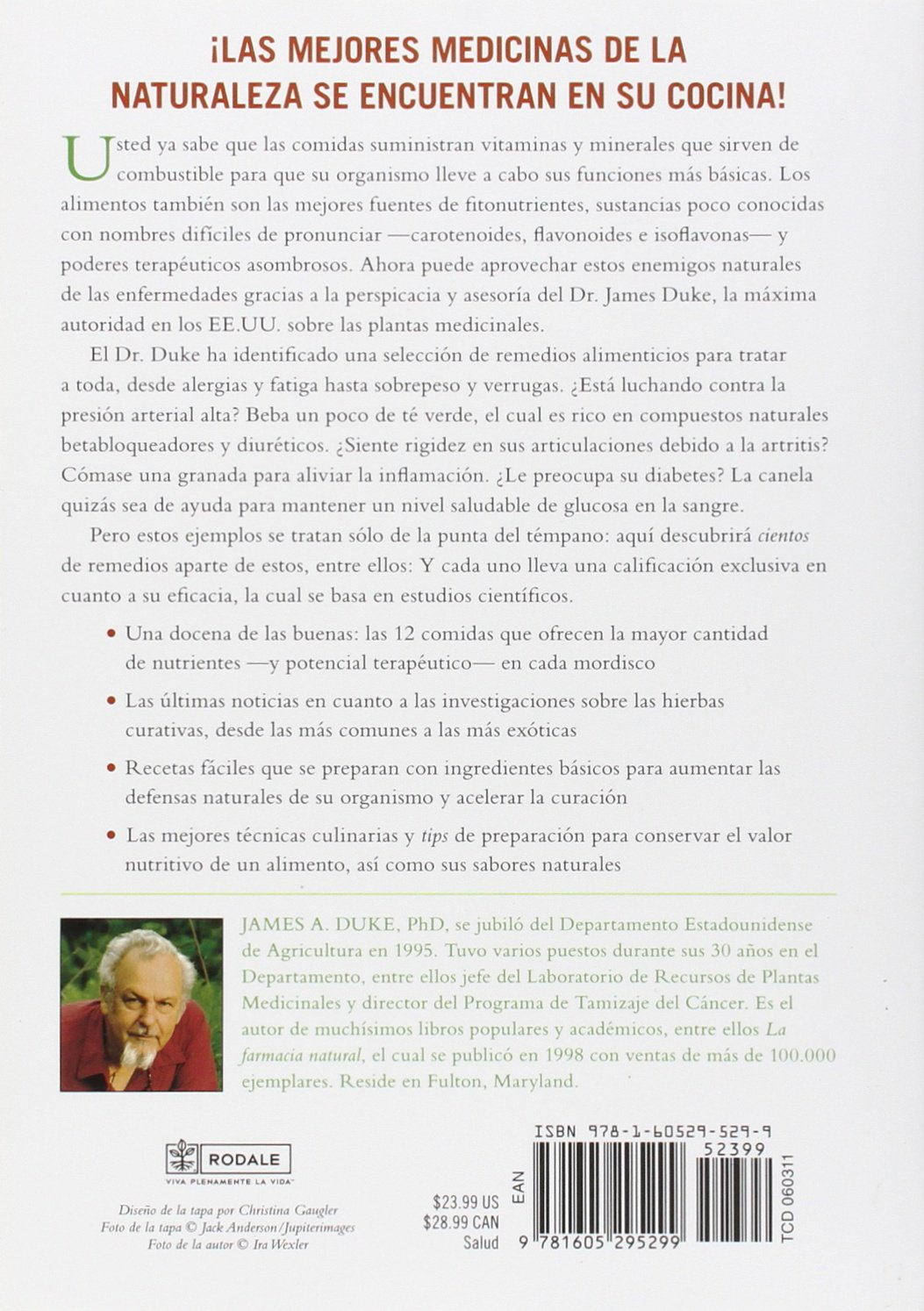 La nueva farmacia natural: Alimentos curativos para prevenir y tratar más de 75 males comunes (Spanish Edition): James A. Duke: 9781605295299: Amazon.com: ...