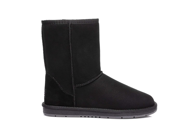 748cc86651 Australian Shepherd Water Resistant Unisex Short Classic UGG Boots   Amazon.com.au  Fashion