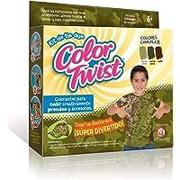 COLOR TWIST el Caballito Kit Tie Dye Colores Camuflaje