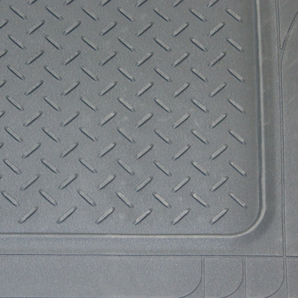 Gray OxGord WeatherShield HD Heavy Duty Rubber Trunk Cargo Liner Floor Mat SUV Van /& Trucks Trim-to-Fit for Car