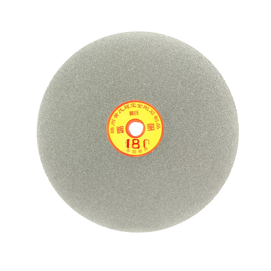 uxcell 180mm 7-inch Grit 180 Diamond Coated Flat Lap Disk Wheel Grinding Sanding Disc