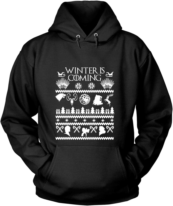 DILREWOLF WINTER IS COMING GAME OF THRONES PRINT TEES SWEATSHIRT AND HOODIES.