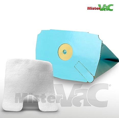 10 x Bolsas para aspiradoras filtro + para Electrolux Lux D ...