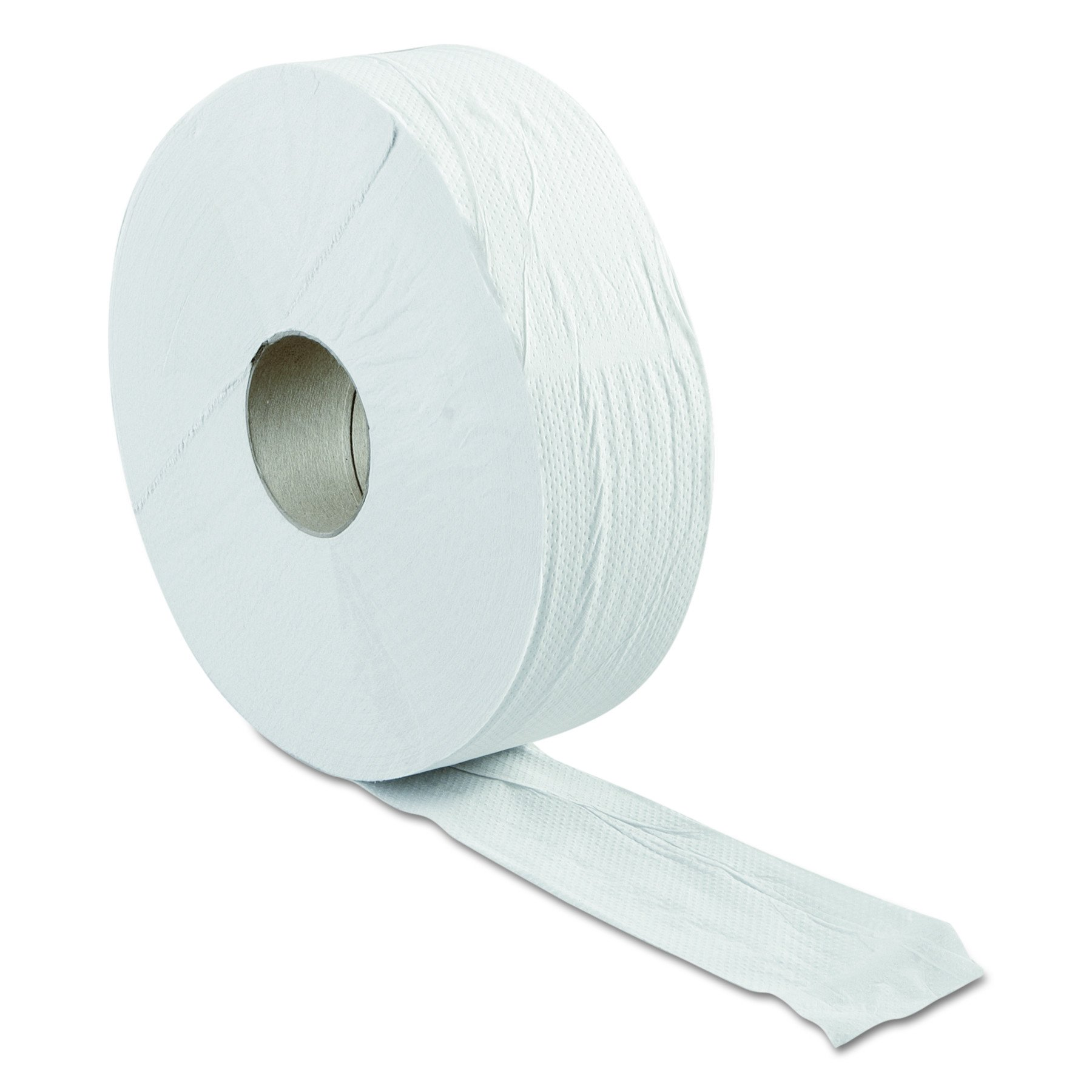 Green Haritage 062 12'' Diameter x 3.42'' Width, Economy Size, 2-Ply Jumbo Roll Bathroom Tissue (Case of 6)