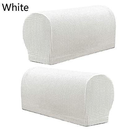 Way2top Sofa Armrest Protector for Armchairs, Sofas, Non-Slip Armchairs, 2PCS/Set Fleece Premium Armrest Covers Stretchy Chair Sofa Couch Arm ...