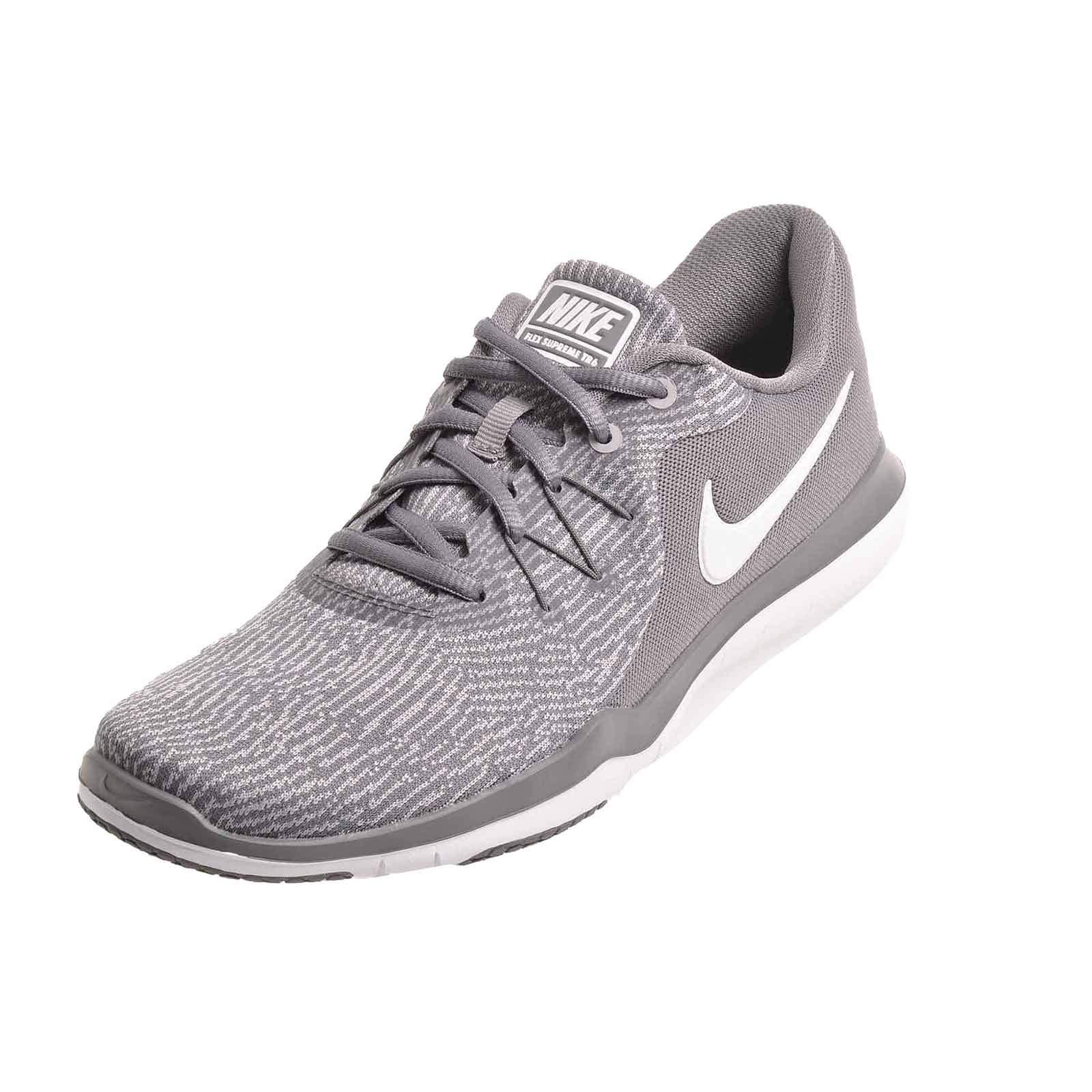 first rate cdf25 0f4ef Galleon - NIKE Womens Flex Supreme TR 6 (W) Cross Training Shoes, Gunsmoke  White, Size 10.5 Wide