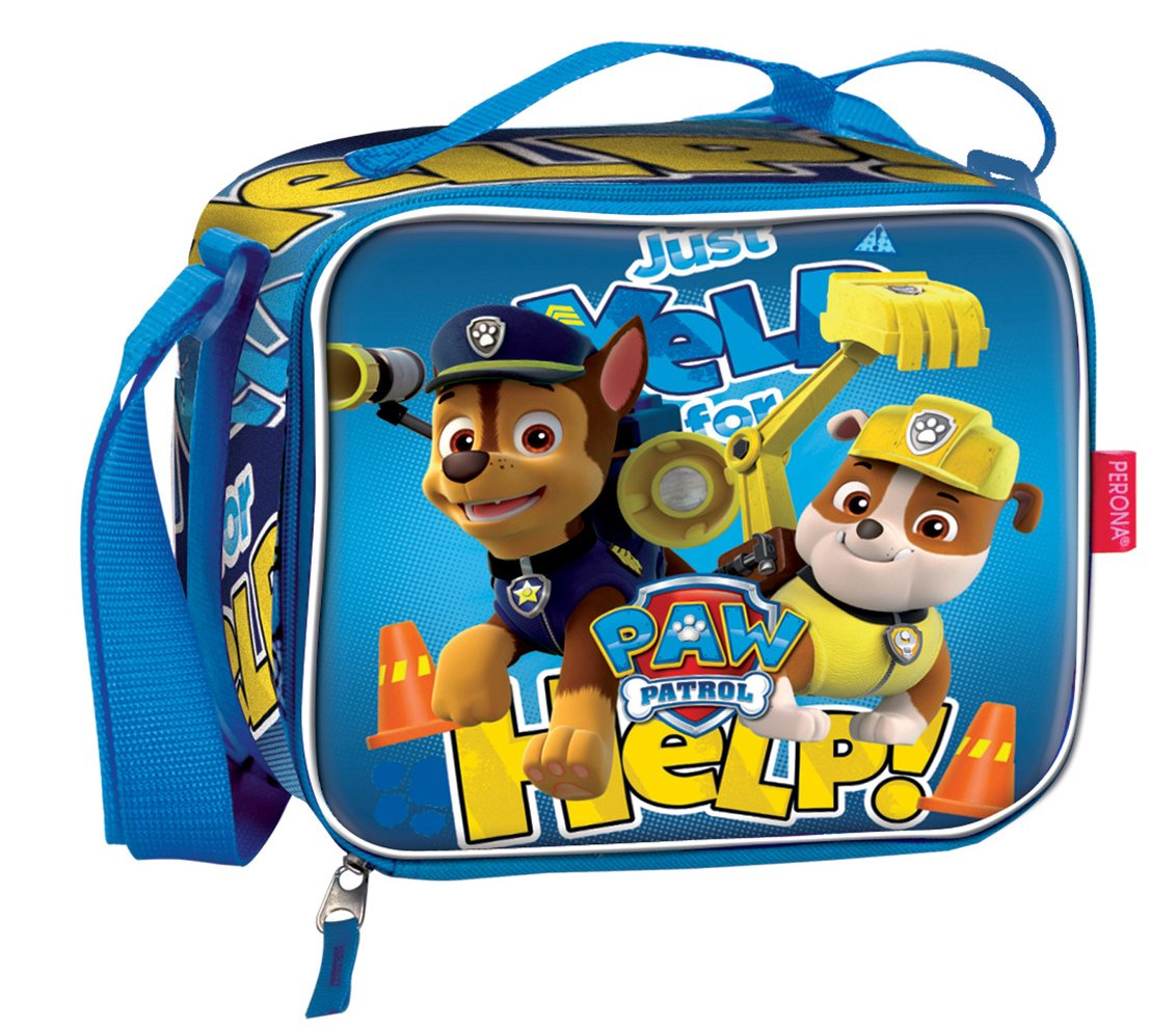 PAW PATROL 53566 'Just Yelp for Help Insulated Cooler Lunch Bag