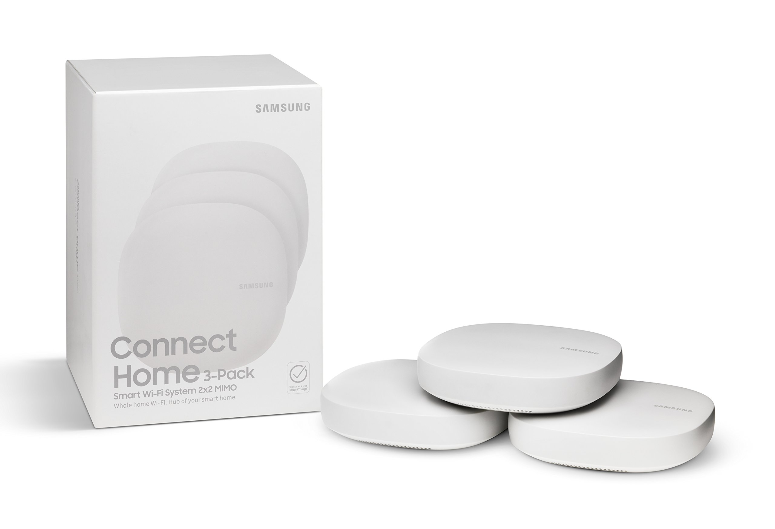 Samsung Connect Home AC1300 Smart Wi-Fi System (3-Pack), Works as a SmartThings Hub by Samsung (Image #2)