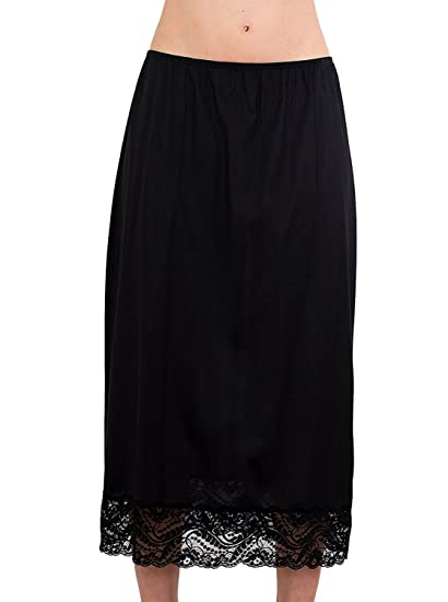 Under Moments Maxi Half Slip Vintage Style 32 With All Around Lace