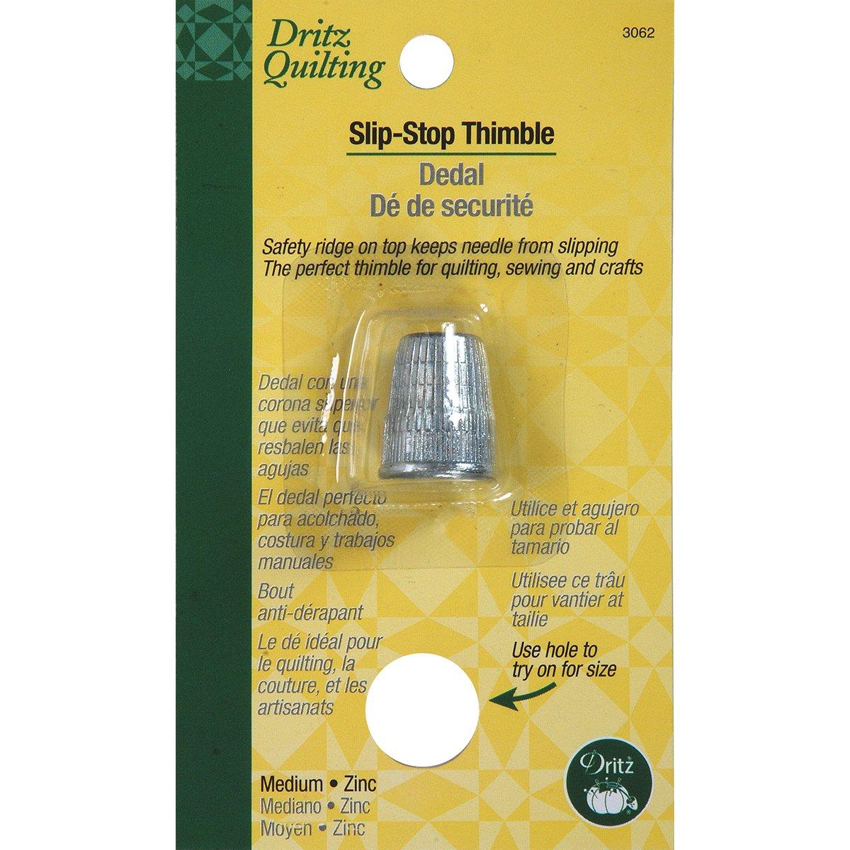 Dritz Slip Stop Thimble, Medium Prym Consumer USA 3062