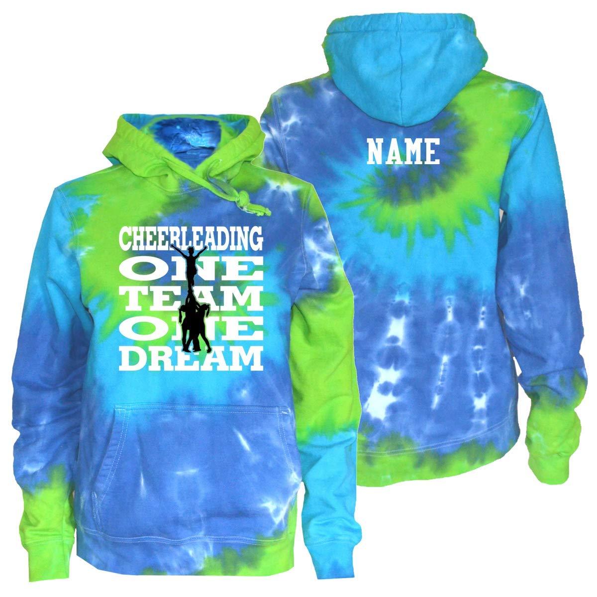 JANT girl Custom Cheerleading One Team One Dream White Text Logo CUSTOMJANT8/4/4618