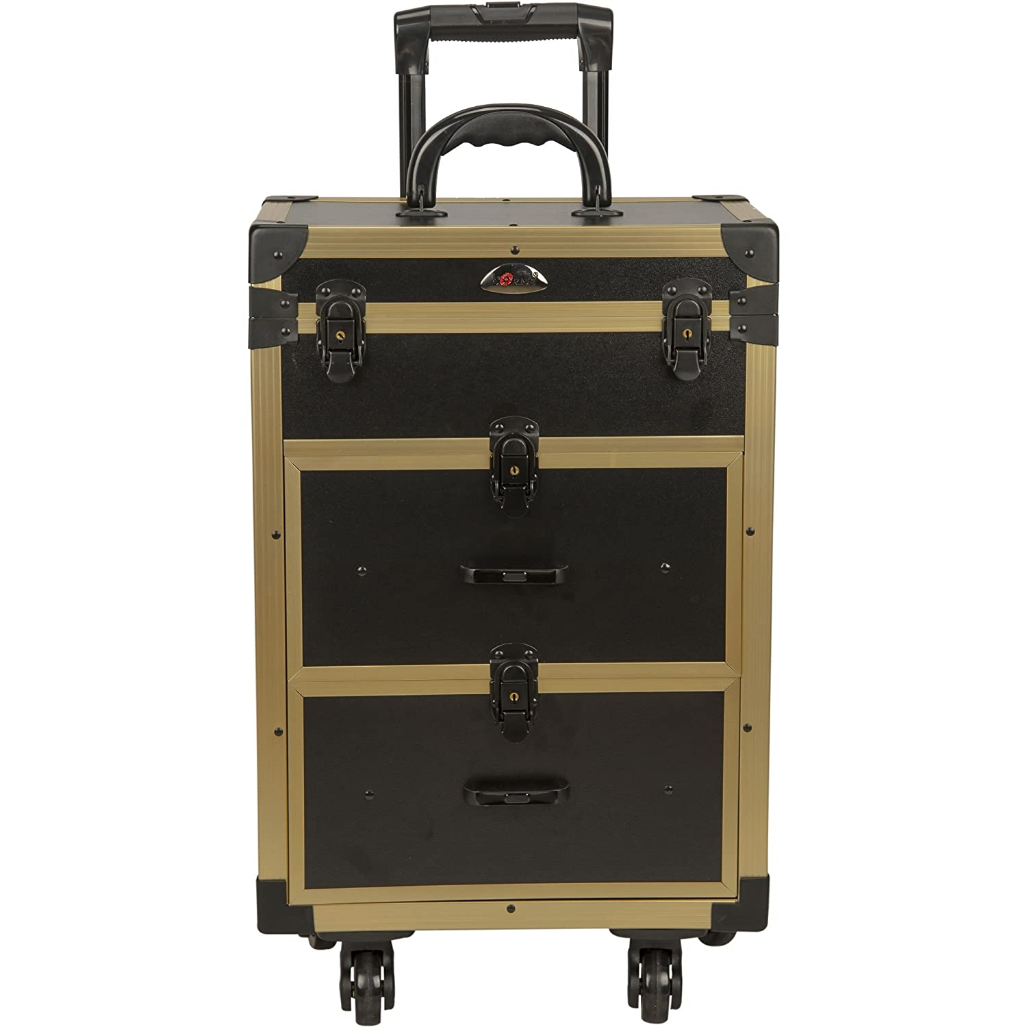 spinner large suitcase wheel with drawers cavalet