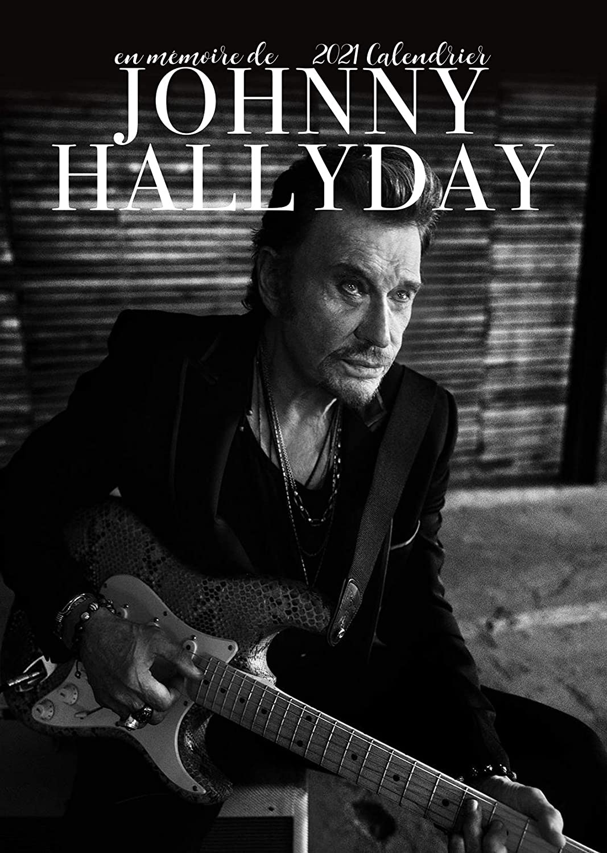 Calendrier Johnny Hallyday 2021 La Poste Johnny HALLYDAY 2021 Calendar Large (A3) Poster Size Wall Calendar