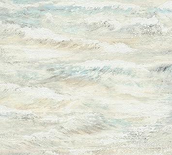 A S Creation Vliestapete Cote D Azur Tapete In Maritimer Wellen