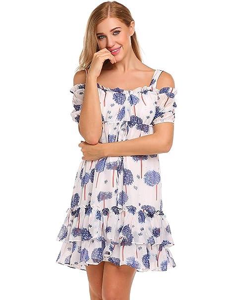950c10b87cbc Vestidos Playa Mujer Mujer Verano Elegantes Moda Vestido Sin ...