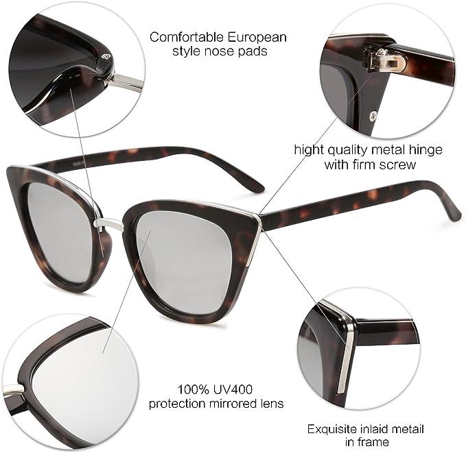 SOJOS Donna Uomo Occhiali da Sole Moda Unisex Occhiali per Gli Uomini e Donne SJ2052