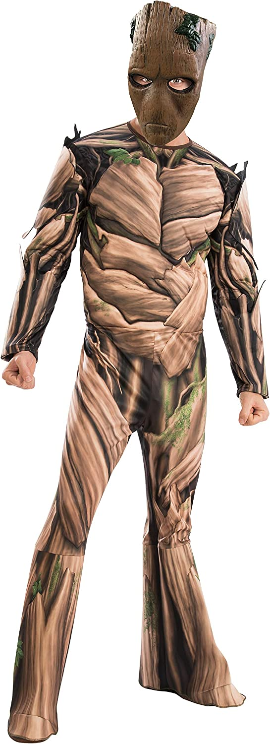 Adult Marvel Infinity War Teen Groot Fancy Dress Costume Standard ...