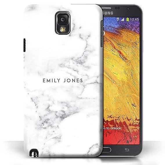 amazon com personalized marble case for samsung galaxy note 3 rh amazon com