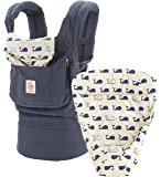 Ergobaby 3 Position Original Bundle Of Joy with Easy Snug Infant Insert - Marine, Navy