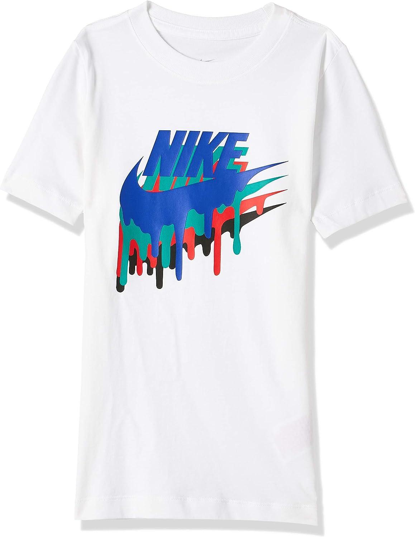 Nike Sportswear Melted Crayon Camicia Bianco M Bambino
