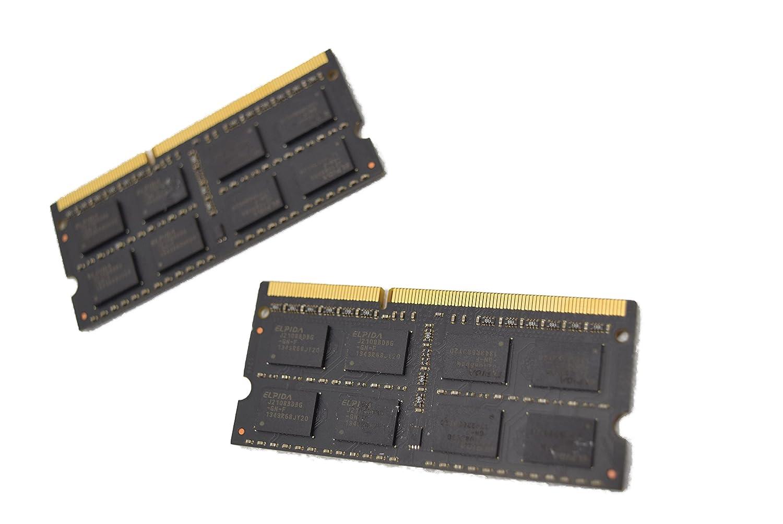 Gskill 8gb 2 X 4gb 204 Pin Ddr3 So Dimm 1333 Pc3 10600 Memory Pc12800 Elpida Laptop Model F3 10600cl9d 8gbsq At