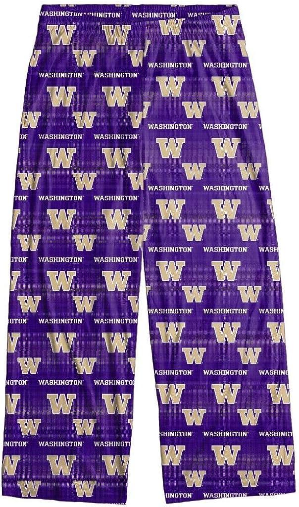FOCO Washington Huskies Men's Scatter Pattern Pajama Lounge Multi Color Pants
