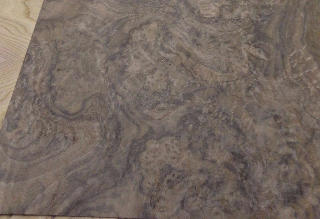 Walnut Burl wood veneer 45'' x 103'' with paper backer ''AA+'' quality grade