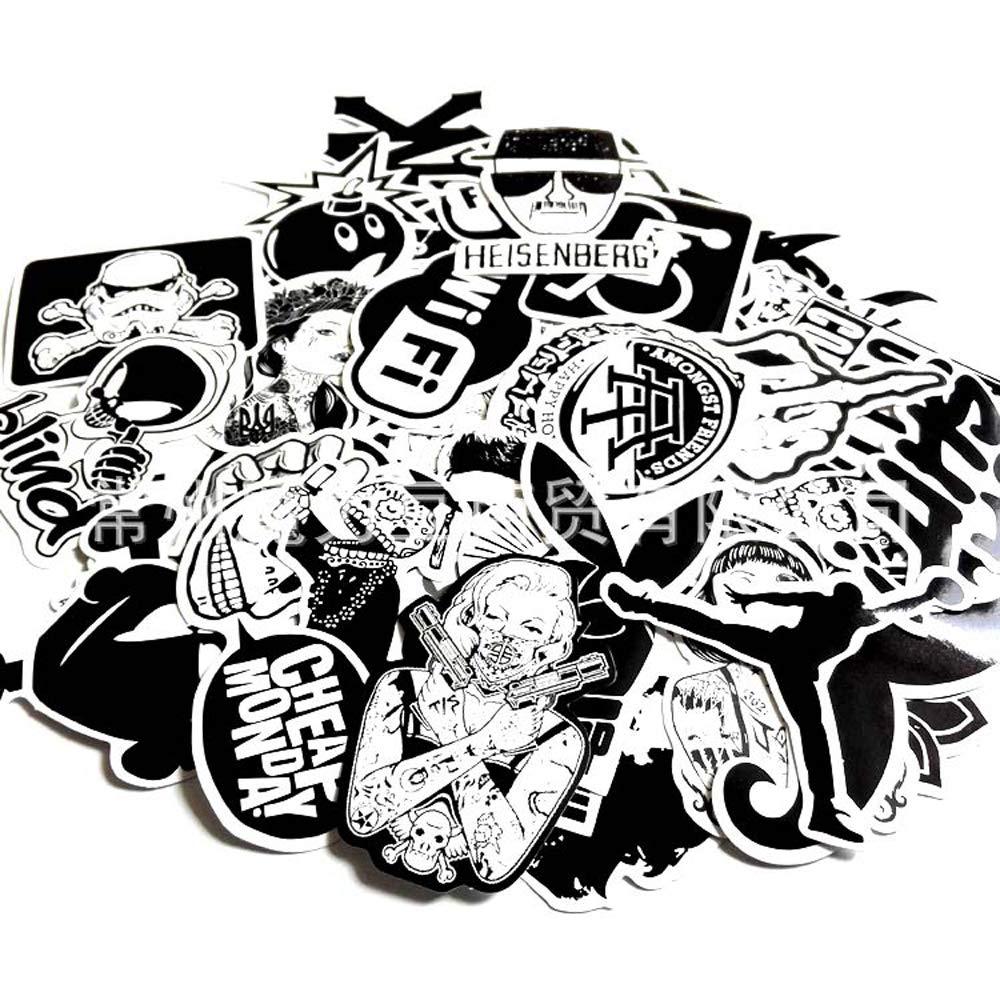 1000 pcs stickerbomb Stickers Skateboard Decal Laptop Skateboard car Decal Stickers