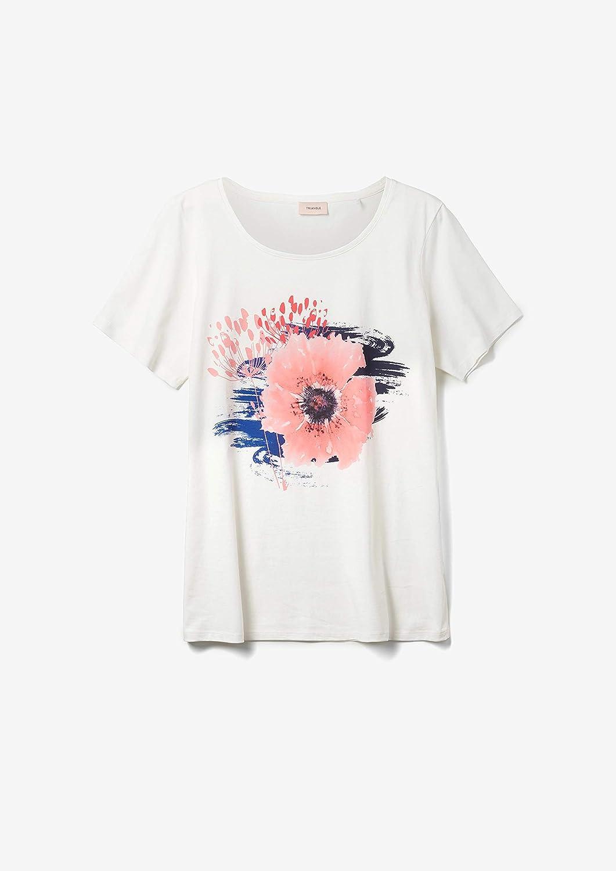 TRIANGLE T-Shirt Kurzarm Donna 01d3