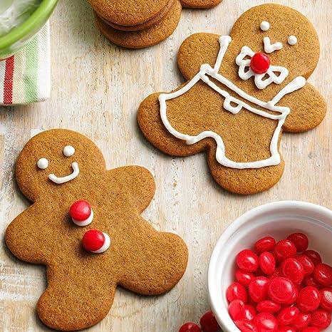Stampi Per Dolci Di Natale.Keniao Inverno Natale Formine Biscotti Taglierina Fondente 5 Pezzi Fiocco Di Neve Albero Di Natale Omino Di Marzapane Renna E Babbo Natale