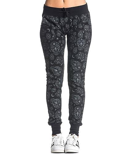 Sullen Clothing - Pantalón - Ajustada - para mujer