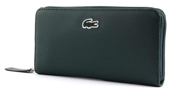 Lacoste L.12.12 Concept L Zip Wallet Green Gables: Amazon.es ...