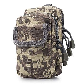 SPAHER Oxford Waistpacks Ejército Militar MOLLE Tactical Cintura Bumbag Bolsa de Viaje de cinturón de Viaje para Outdoor Deportes Camping Impermeable ...