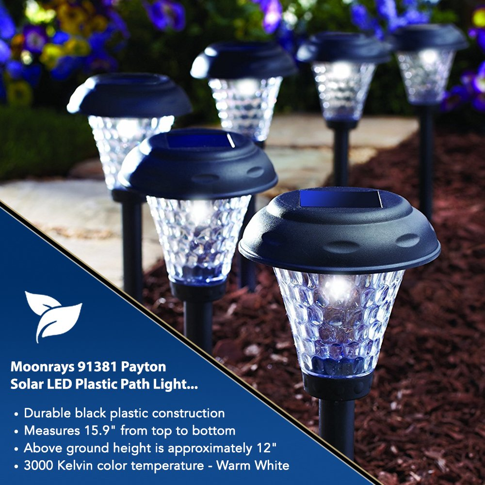 Ordinaire Moonrays 91381 Payton Solar LED Plastic Path Light, 2X Brighter, 8 Pack    Landscape Path Lights   Amazon.com