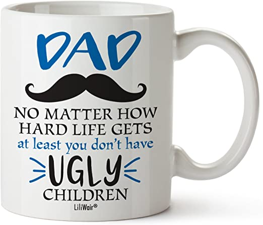Amazon Com Christmas Gifts For Dad From Daughter Son Fathers Day Coffee Mug Gift Best Cool Happy Funny First Birthday Mugs For Father Daddy Stepdad Stepfather Step Dad S Presents Cup From Kids Kitchen
