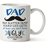 Gifts For Dad From Daughter Son Christmas Birthday Gift Coffee Mug Best Cool Happy