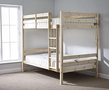 4ft 6 TWIN Bunk Bed VERY STRONG BUNK! DOUBLE Bunkbed Heavy Duty Use