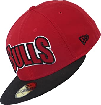 New Era para hombre Gorra de Edge Up NBA Chicago Bulls 59Fifty ...