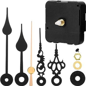 Details about  /DIY Quartz Battery Wall Clock Movement Mechanism Repair Tool Replace Parts White
