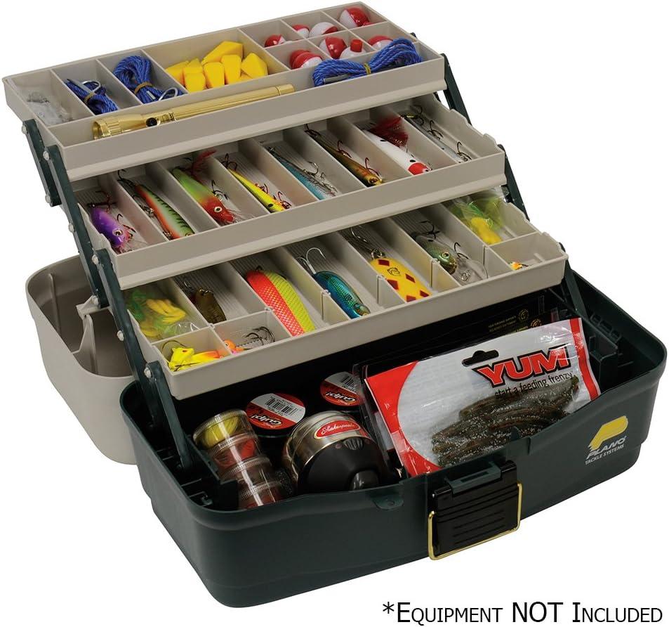 Plano Eco Friendly 3 Tray Tackle Box, Premium Tackle Storage