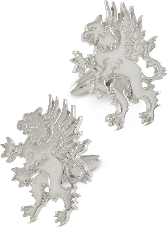 ZAUNICK Maple Leaf Cufflinks Sterling Silver Handcrafted