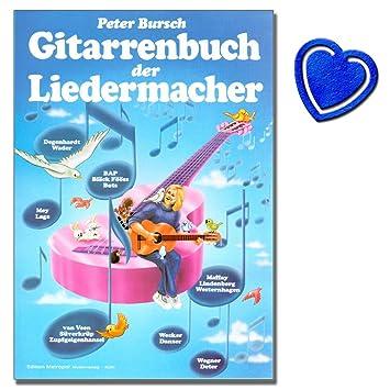 Amazon Com Livre Le Liedermacher De Peter Bursch Guitare