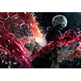 Tokyo Ghoul Customized 20x14 inch Silk Print Poster/WallPaper Great Gift