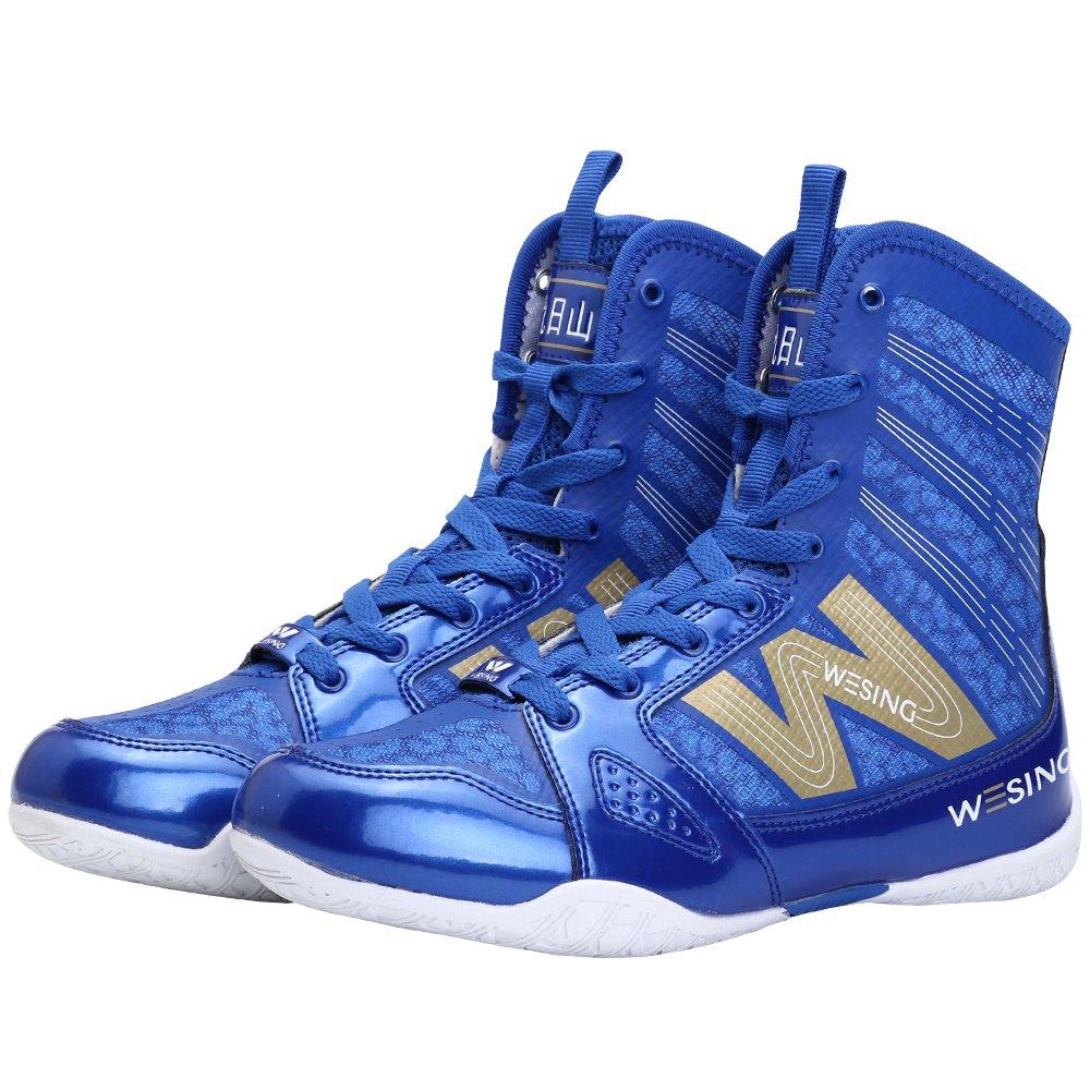 wesing - Zapatillas de Boxeo de Sintético para Hombre